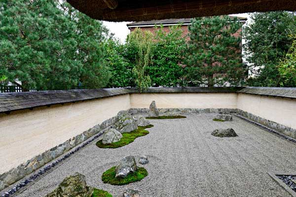 The Zen Garden With Roof